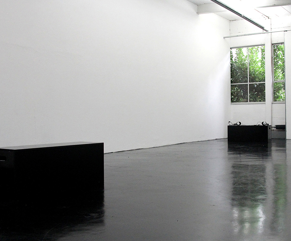 """Bel Ami – Ma Chérie"" – Erinnerungen an meine Großmutter, Soundinstallation, 2015"