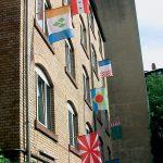 """""""Flagge hissen"""", Installation, 2008"""
