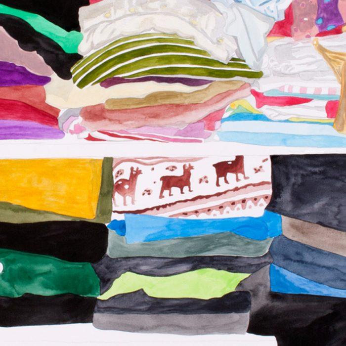 """Personal landscape"", Malerei, 2010 - 2011"
