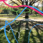 """""""spring line # 01"""" ,  Augmented-Reality Video, 2020"""
